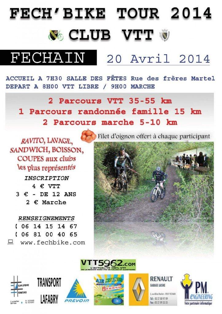 FECH'BIKE TOUR 2014