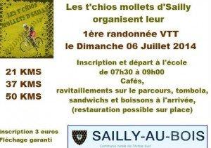 Rando VTT Sailly aux bois