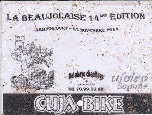 La beaujolaise 2014